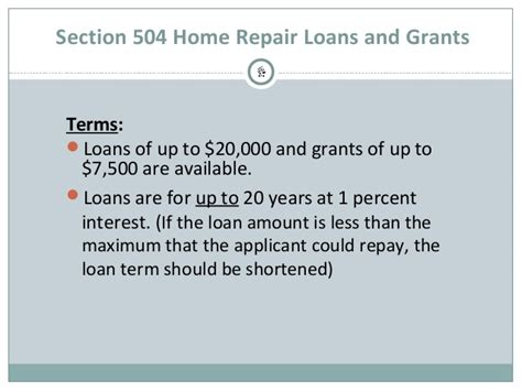 Section 504 Loan 28 Images Usda Section 504 Home