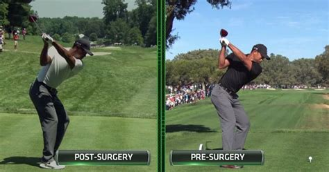 tiger woods swing vision video excellent peter kostis comparison of tiger s swing