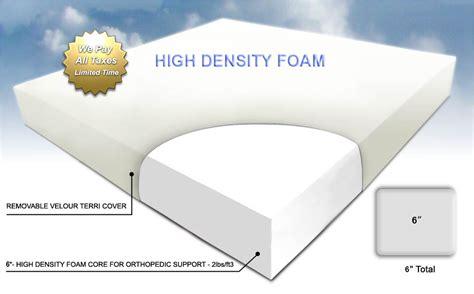 Foam Density Mattress by Foam Mattress Canada Mfc