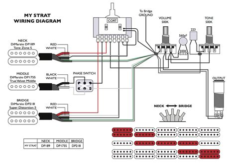 dimarzio wiring diagrams shaller switch wiring