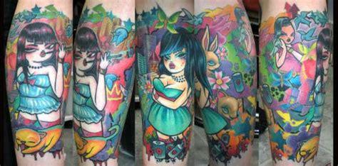 tattoo miss van miss van sleeve by beto munoz of monkeyproink com tattoo