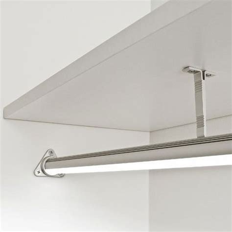 closet rod architectural led surface mounted led fixtures kendo closet rod luminii corp