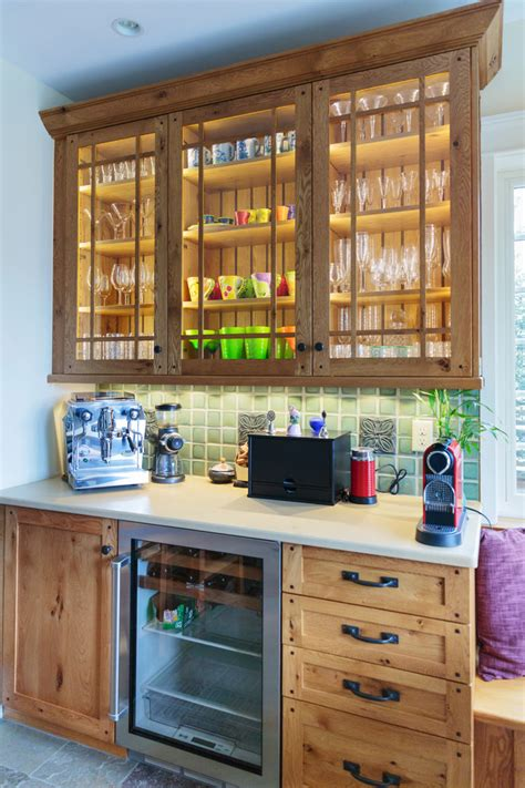 led barware coffee bar ideas kitchen traditional with wet bar wood cabinets glass cabinets