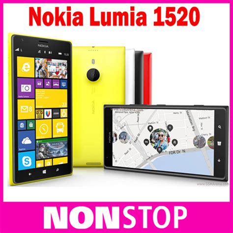 Nokia 3 16gb Ram 2gb New Ori Bnib Limited original unlocked lumia 1520 nokia windows 8 2gb ram 32gb rom 3g 4g 6 inch nokia