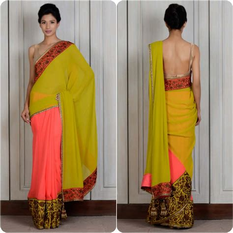Saree Drapes Latest Sarees Collection By Manish Malhotra Stylo Planet