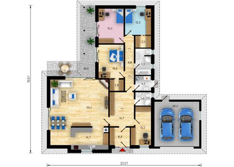 Bungalow 4 Schlafzimmer Grundriss by Baufirma F 252 R Neubau In Neresheim Bungalow 182