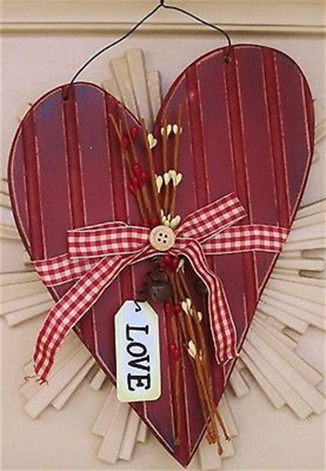 wooden hearts heart  valentines day  pinterest