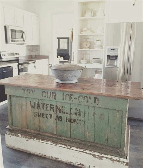 kitchen island farmhouse vintage farmhouse kitchen islands antique bakery counter