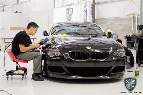 Automotive Detailer by Bmw M6 Detailed At Nwas