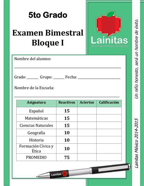 examen bimestral sexto grado apexwallpaperscom lainitas examen 2014 2015