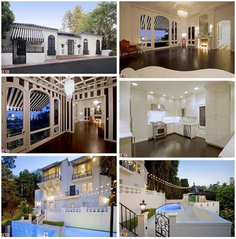 Spanish Style Garage by Moby Leases Out Hollywood Hills House Variety