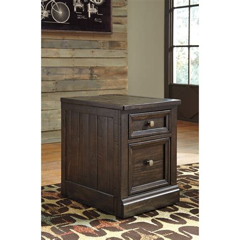 ashley furniture file cabinet ashley signature design townser h636 12 solid pine file