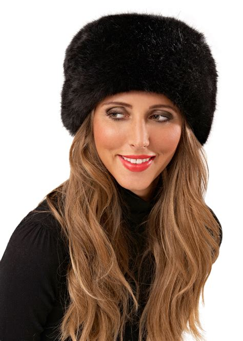 Luxe To Less Winter Hats Up 1 The Bag by Womens Luxury Faux Fur Russian Cossack Style Hat