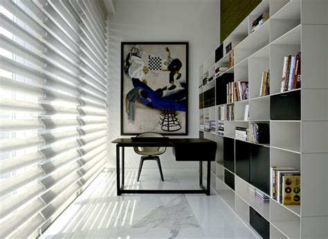 home office design trends 2014 sophisticated indian apartment with woven staircase