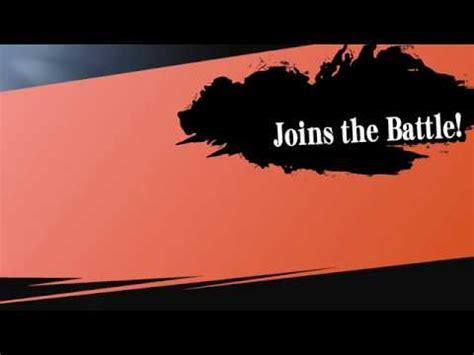 smash intro card template smash bros quot joins the battle quot meme template