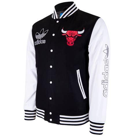 adidas adidas nba originals chicago bulls varsity jacket