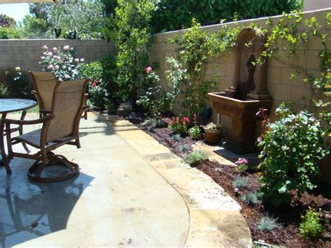 tuscan patio  water feature ideas courtyard