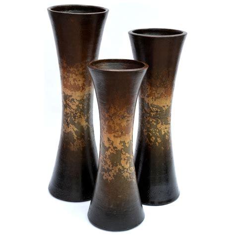 Vase Set Of 3 by Curva Vases Set Of 3