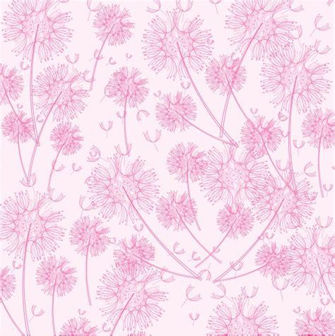 wallpaper pink dandelion dandelion wallpaper background free stock photo public
