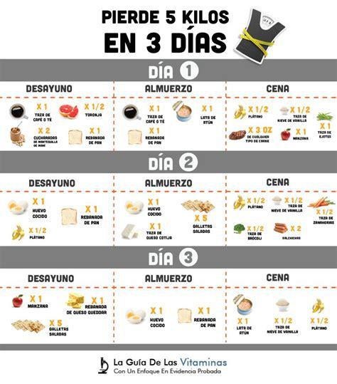 Alguien A Bajado De Peso Con Aguas Detox by Dieta Para Adelgazar 5 Kilos En 3 D 237 As Es Segura