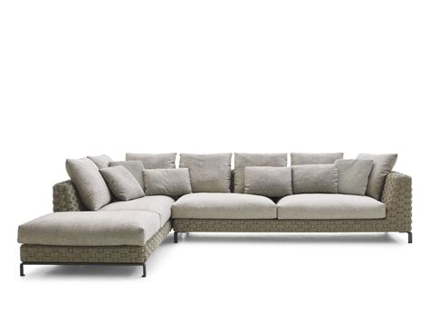 b b sofa price ray outdoor natural sofa with chaise longue ray outdoor