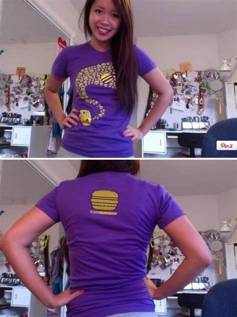 cut t shirt with bows on back salinabear x elephant in the room cut up t shirt 3 columns on back with weaving and bows