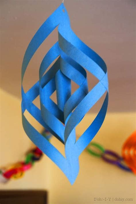 three dimensional paper christmas ornaments d oh i y