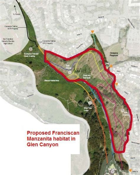 san francisco map glen park glen park map san francisco search the