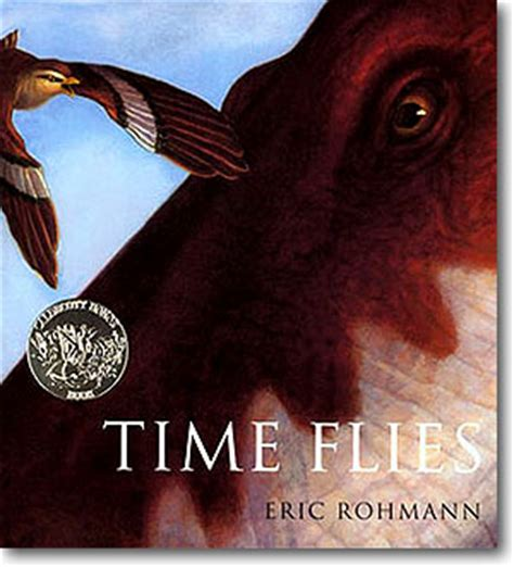 the time flies books eric rohmann author illustrator time flies