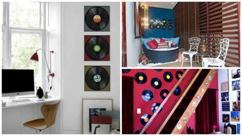 como decorar o quarto disco de vinil decora 199 195 o disco de vinil 25 ideias