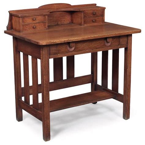 mission style writing desk stickley brothers writing desk writing desks pinterest
