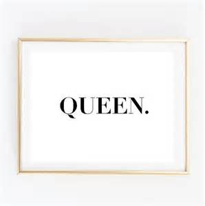 Custom Wall Stickers Australia queen tumblr pintrest quote typographic print tumblr shirt art