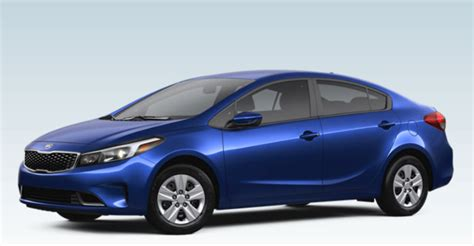 Kia Forte Colors 2017 Kia Forte Colors And Interior Accessories