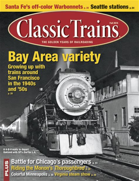 passenger terminals and trains classic reprint books fall 2014 classic trains magazine