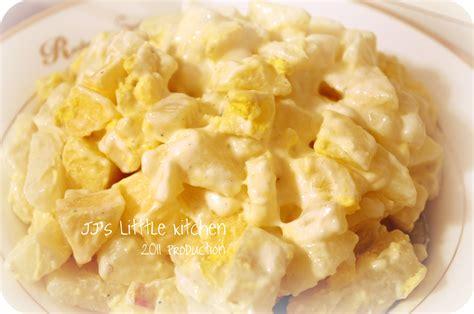 egg and potato salad with apple j j s little kitchen