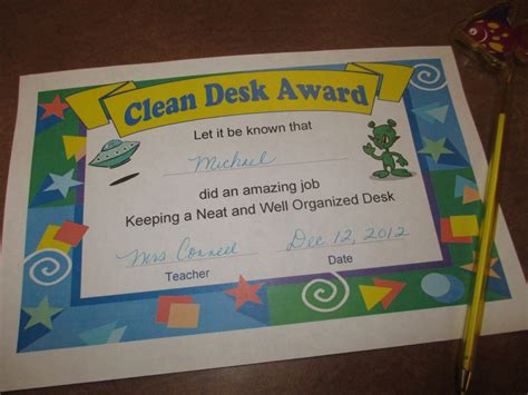 Help Desk Certificate by Help For The Organizationally Challenged