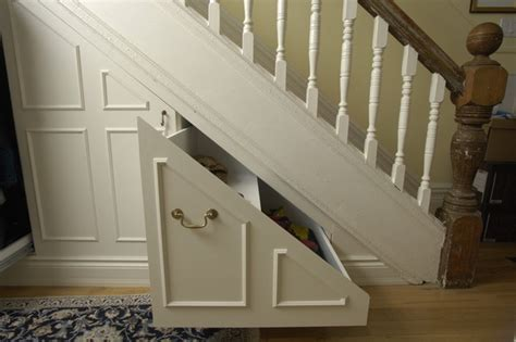 Stair Closet Storage by Stair Storage Traditional Closet Toronto By