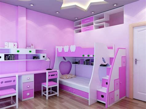 Room Designs For Teenage Girls 15 m u thi t k n i th t ph 242 ng ng tr em p cho b 233 g 225 i