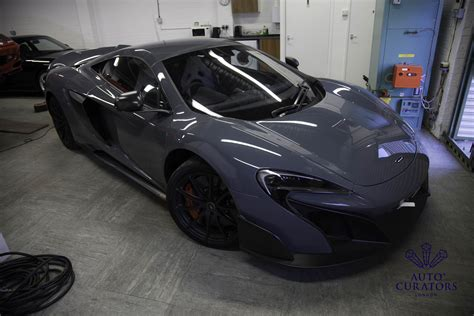 maclaren new car mclaren 675lt new car detail with coverage paint