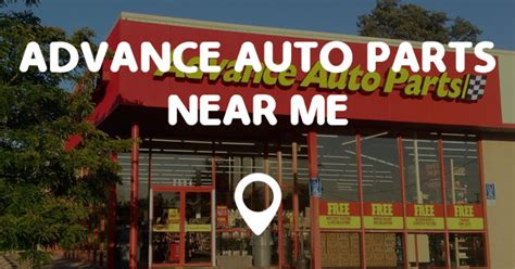 fan store near me advance auto parts near me points near me