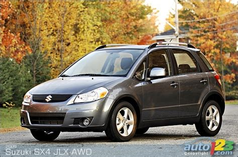 2009 Suzuki Sx4 Review List Of Car And Truck Pictures And Auto123