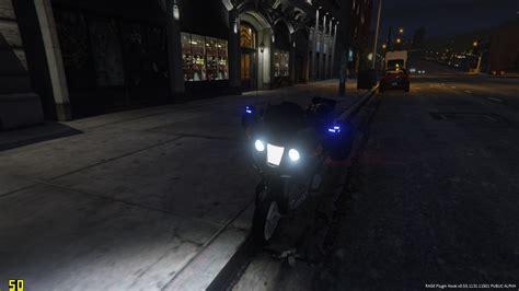 Skun 3739 Skun Motor unmarked bike skin nederlandse politie motor gta5 mods