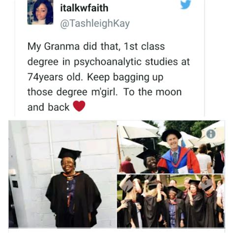 wow 74 years grandmother graduates with class degree in uk photos