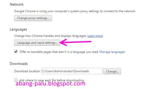 chrome bahasa indonesia cara mengganti bahasa google chrome dari inggris ke indonesia