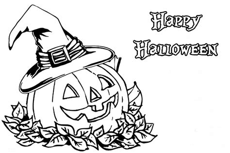 coloring pages of pumpkin for halloween halloween pumpkin coloring pages trick or treat bag