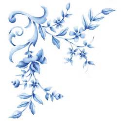 Flower stencils and floral designs nature wall stencils