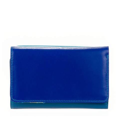 Zip Fold Wallet mywalit medium tri fold wallet outer zip portemonnee seascape