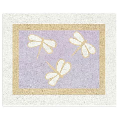 sweet jojo designs rugs sweet jojo designs dragonfly dreams accent floor rug in purple buybuy baby