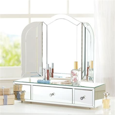 Glass Dressers by Glass Dresser Vanity Pbteen