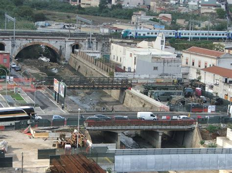 mobilita palermo piazza scaffa completato il nuovo ponte militare bailey